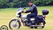 Silver Yamaha Rd350 By Vishal Agarwal Left Side 2