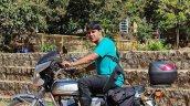 Silver Yamaha Rd350 By Vishal Agarwal Left Side 3