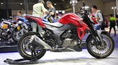 Haojue Dr300 Suzuki Gsx S300 Red Right Side Profil