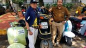 Honda Elite 250 With Dr Jeswant Thomas At Scooter