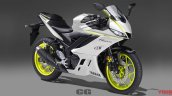 Yamaha R25 2019 New Yamaha R3 White Colour