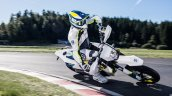 2019 Husqvarna 701 Supermoto Press Images Front Ac