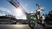 2019 Husqvarna 701 Supermoto Press Images Left Fro