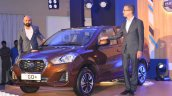 Datsun Go Facelift Launched Front Left Quarter