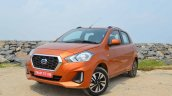 New Datsun Go Facelift Left Front Quarter