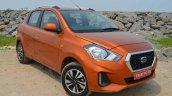 New Datsun Go Facelift Right Front Quarter