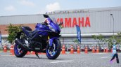 2019 Yamaha Yzf R3 Live Images Right Front Quarter