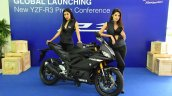 2019 Yamaha Yzf R3 Via Facebook Right Front Quarte