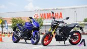 2019 Yamaha Yzf R3 With Mt 15 Side Profile