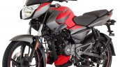Bajaj Pulsar Ns125 Red Press Image Left Front Quar