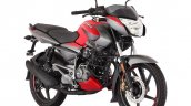 Bajaj Pulsar Ns125 Red Press Image Right Front Qua