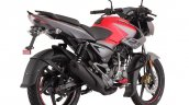 Bajaj Pulsar Ns125 Red Press Image Right Rear Quar