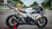 Yamaha R15 To Bmw Hp4 Race Transformation Right Si
