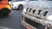 2019 Mahindra Tuv300 Facelift Front Grille Spy Sho
