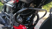 New Bajaj Pulsar Ns125 Live Images Crash Guard