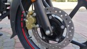 New Bajaj Pulsar Ns125 Live Images Front Disc Brak