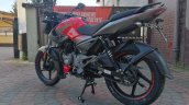 New Bajaj Pulsar Ns125 Live Images Left Rear Quart