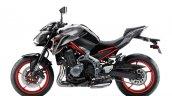 2019 Kawasaki Z900 Red Left Side Profile Press Ima
