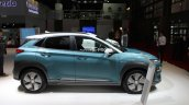 Hyundai Kona Ev Paris Motor Show 2018 Images Side