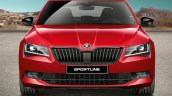 Indian Spec Skoda Superb Sportline Front