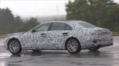 2020 Mercedes S Class Rear Three Quarters Spy Shot