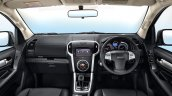 Facelifted Isuzu Mu X Interior