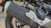 Suzuki V Strom 650 Xt Details Exhaust Side