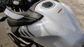Suzuki V Strom 650 Xt Details Fuel Tank Top Angle