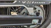 Suzuki V Strom 650 Xt Details Swingarm And Rear Sp
