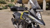 Suzuki V Strom 650 Xt Review Still Shots Front Rig