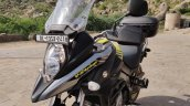 Suzuki V Strom 650 Xt Review Still Shots Left Fron
