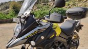 Suzuki V Strom 650 Xt Review Still Shots Left Thre