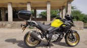 Suzuki V Strom 650 Xt Review Still Shots Right Sid