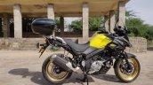 Suzuki V Strom 650 Xt Review Still Shots Right Sid