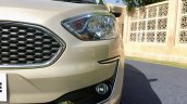 2018 Ford Aspire Facelift Review Headlight