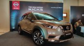 Indian Spec Nissan Kicks Front Three Quarters