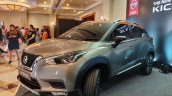 Indian Spec Nissan Kicks Front Three Quarters Left