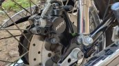 Modified Yamaha Rd350 Disc Brakes And Abs Rear Dis