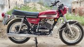 Modified Yamaha Rd350 Disc Brakes And Abs Right Si