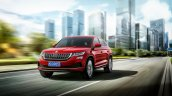 Skoda Kodiaq Gt Front Three Quarters