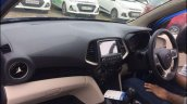Hyundai Santro Blue Spied Ahead Of Launch Interior