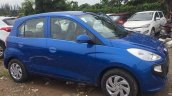 Hyundai Santro Blue Spied Ahead Of Launch Right Fr
