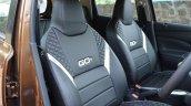 2018 Datsun Go Facelift Front Seat Seatbacks