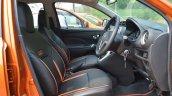 2018 Datsun Go Facelift Front Seats