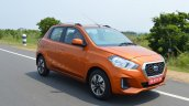 2018 Datsun Go Facelift Front Three Quarters