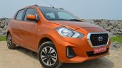 2018 Datsun Go Facelift Front Three Quarters Right