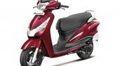 Hero Destini Launched In India Noble Red Left Fron