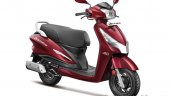 Hero Destini Launched In India Noble Red Right Fro