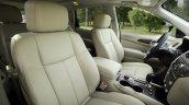 2019 Nissan Pathfinder Front Seats