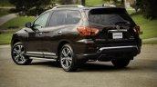 2019 Nissan Pathfinder Rear Three Quarters